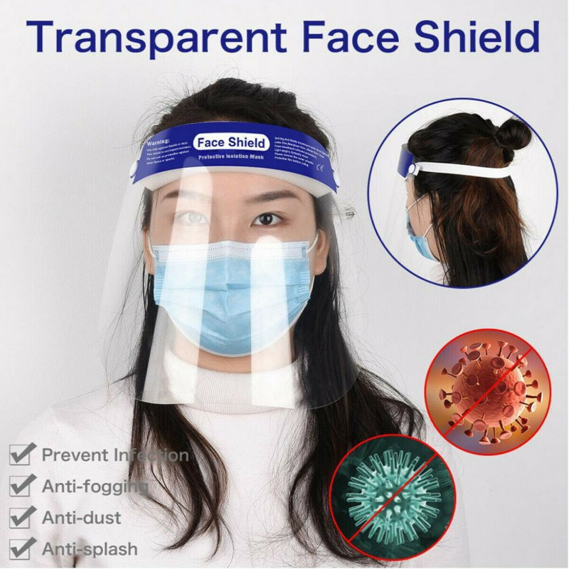 Safety Full Face Shield Clear Protector
